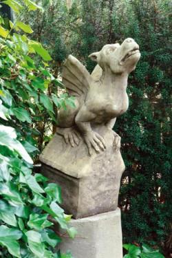 Picture of Gothic Gargoyle Stone Ornament