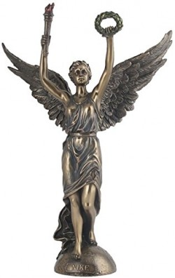 Picture of Nike Bronze Statue 33 cm