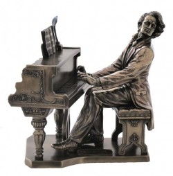 Picture of Chopin Bronze Figurine