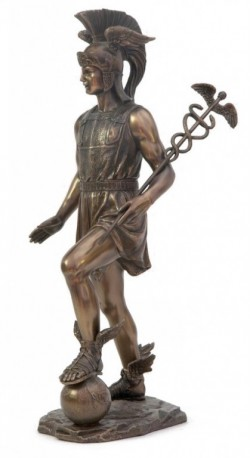 Picture of Hermes Bronze Statue 33 cm