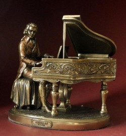 Picture of Mozart Bronze Figurine