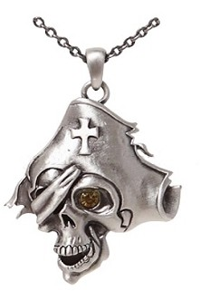 Picture of Pirate Skull Necklace