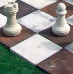 Picture of Garden Chess BOARD ONLY