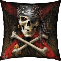 Picture of Pirate Skull Cushion (Anne Stokes) 42 cm