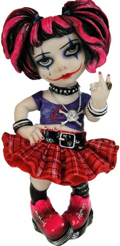 Picture of Little Miss Rebel Cosplay Girl Figurine