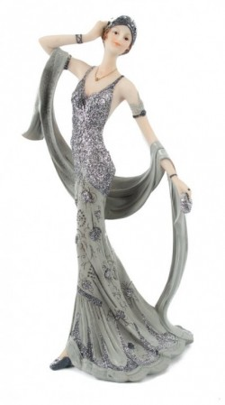 Picture of Juliana Broadway Belles Midnight Shimmer Lady Figurine 32cm
