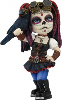 Picture of Clockwork Candy Cosplay Girl Figurine