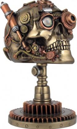 Picture of Bionic Ocular Receiver Skull Bronze Figurine