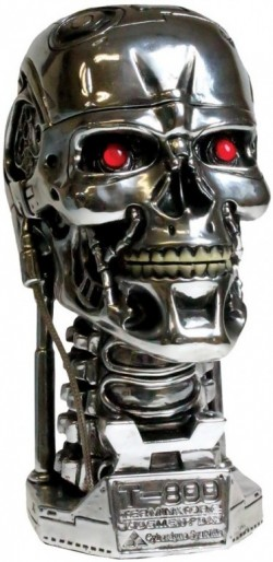 Picture of Terminator 2 Skull Box Bust