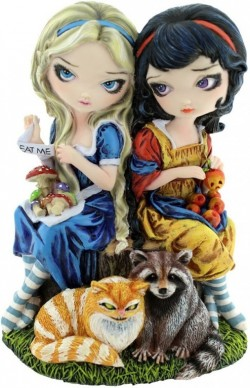 Picture of Alice and Snow White Gothic Figurine LIMITED EDITION Jasmine Becket-Griffith