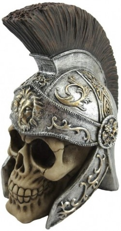 Picture of Maximus Roman Centurion Skull Ornament