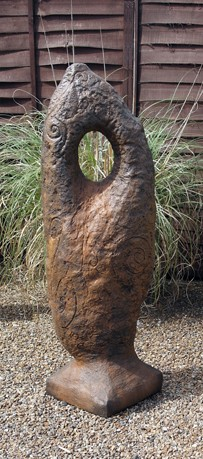 Picture of Celtic Stone Sculpture Burnt Umbar