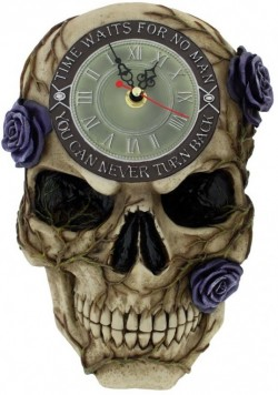 Picture of Never Turn Back Backwards Clock 27cm