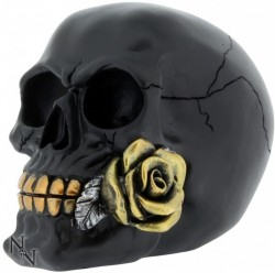 Picture of Romantic Skull Black