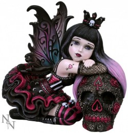 Picture of Lolita Gothic Fairy Figurine 12cm (Little Shadows)