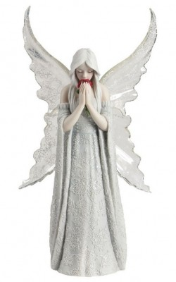 Picture of Only Love Remains Angel Figurine (Anne Stokes)