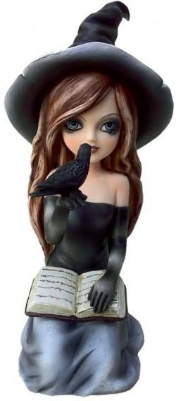 Picture of Regan Witch Figurine 15cm