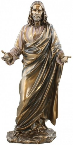 Picture of The Lord Jesus Christ Bronze Figurine 31 cm SECOND
