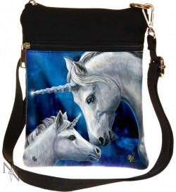Picture of Sacred Love Unicorn Small Shoulder Bag (Lisa Parker) 23cm