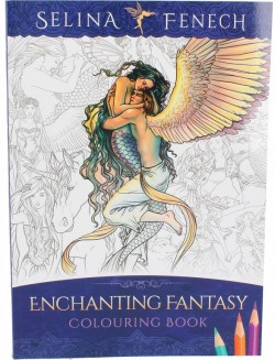 Picture of Enchanting Fantasy Colouring Book Selina Fenech