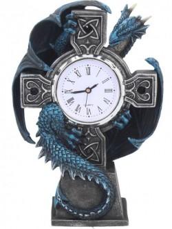Picture of Draco Figurine Clock (Anne Stokes) 18cm