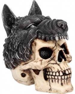 Picture of Shaman Skull Ornament 14cm