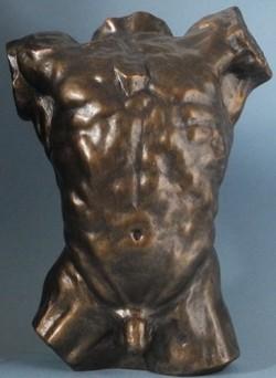 Picture of Torso Bronze Figurine (Rodin)