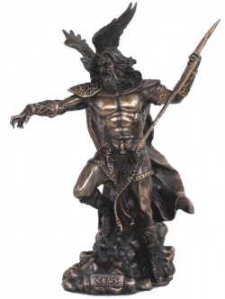 Picture of Zeus Bronze Statue 50 cm LARGE