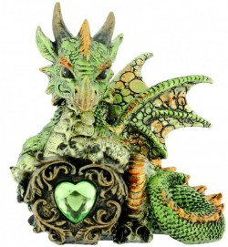 Picture of Malachite Green Dragon Figurine (Alator)