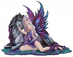 Picture of Eve and the Unicorn Fairy Figurine 37cm