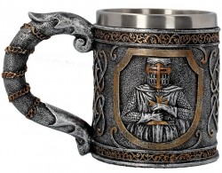 Picture of Knight Tankard 16cm