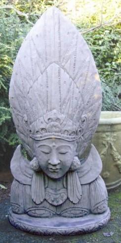 Picture of Sun God Stone Statue