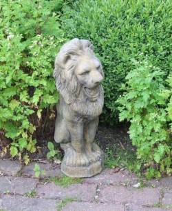 Picture of Standing Lion Stone Statue