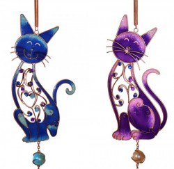 Picture of Large Cat Wind Chime