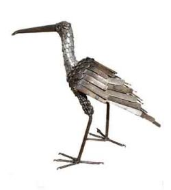Picture of Curlew Bird Metal Garden Ornament (Upright)