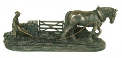 Picture of Ploughman Bronze Ornament Limited Edition 39 cm