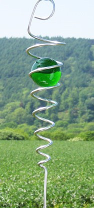 Picture of Green Marble Spiral