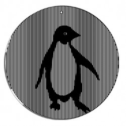 Picture of Penguin Animated Suncatcher Wind Spinner
