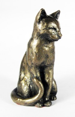 Picture of Willard the Cat Bronze Ornament