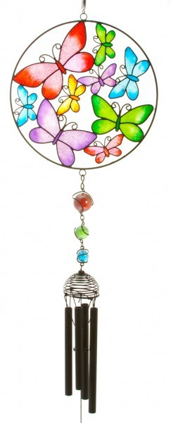 Picture of Butterfly Circle Wind Chime