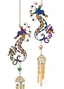 Picture of Seahorse Wind Chime (Adult and Baby)