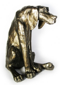 Picture of Sidney the Dog Bronze Figurine (Paul Jenkins)