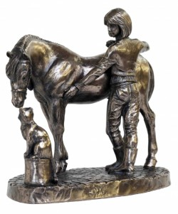 Picture of Stable Friends Bronze Ornament