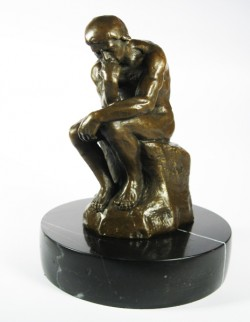 Picture of The Thinker Bronze Ornament (Rodin)