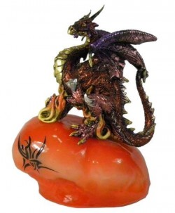 Picture of Soul Dragon Stone Figurine LIGHT FEATURE CLEARANCE