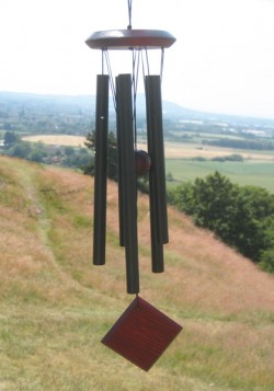 Picture of Woodstock Wind Chimes of Mercury (Black)