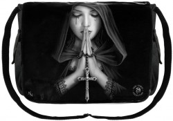 Picture of Gothic Prayer Messenger Bag (Anne Stokes)