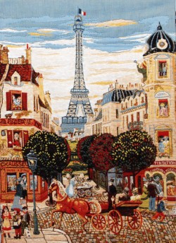 Picture of Eiffel Tower Tapestry