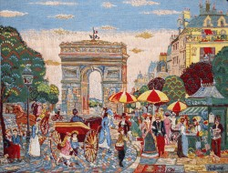 Picture of Arc De Triomphe Tapestry or Cushion