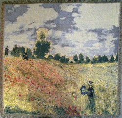Picture of Poppy Field Tapestry Throw